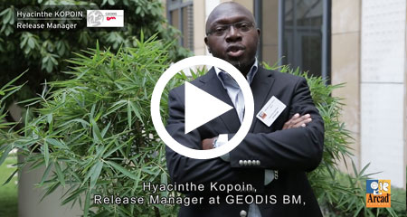Hyacinthe Kopoin from GEODIS BM – Customer Experience