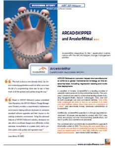 ARCAD-Skipper and ArcelorMittal