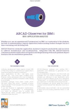 ARCAD Observer Datasheet