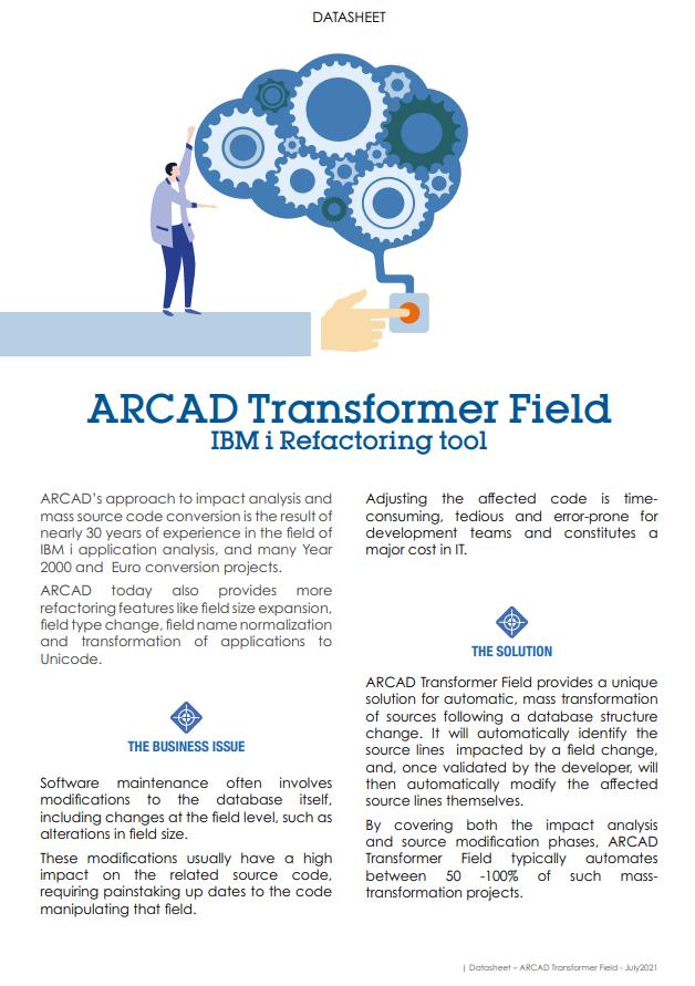 ARCAD-Transformer Field Datasheet