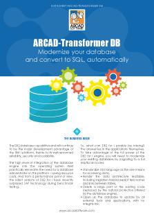 ARCAD Transformer DB Datasheet