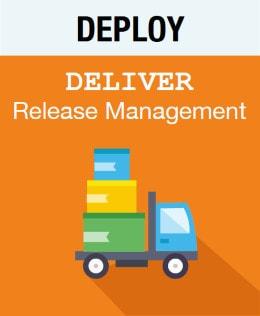 Logo Deploy - Deliver - Release Management