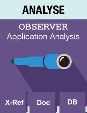 Picto Analyse - Observer - Application Analysis