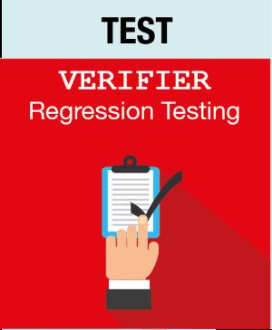Picto TEST - Verifier - Regression Testing