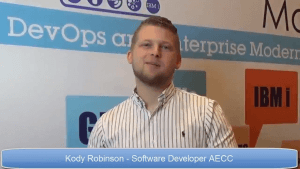 Video: Kody Robinson, Software Developer at AECC: experience of a young developer on IBM i