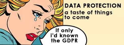 Data Protection: a taste of things to come