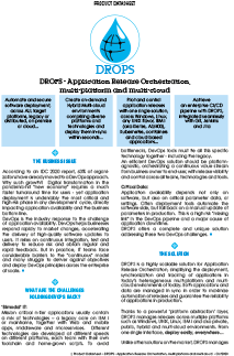 DROPS - Application Release Automation Solution Datasheet
