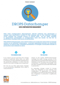 DROPS Datachanger Datasheet