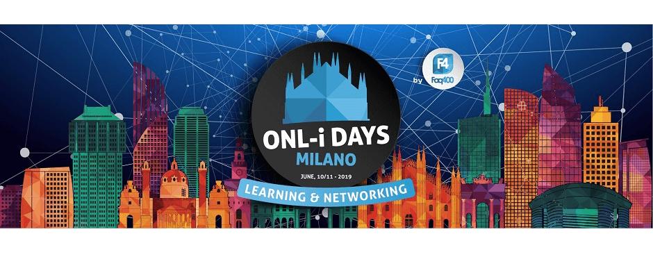 Banner ONL i Days Milano 2019