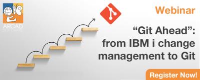 Webinar Git Ahead - from IBM i change mangement to Git