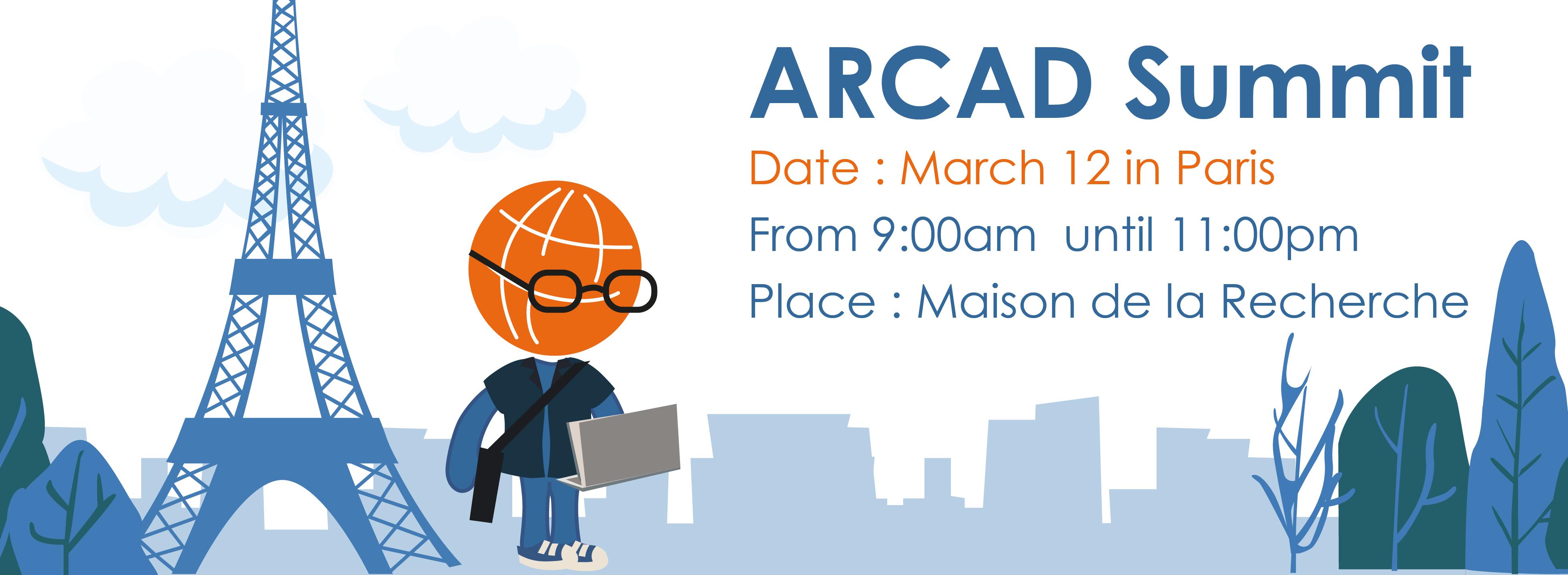 banniere ARCAD Summit 9am -11pm