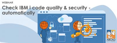 Check IBM i code quality & security automatically