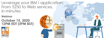 Leverage your IBM i application: From 5250 to Web services, in minutes