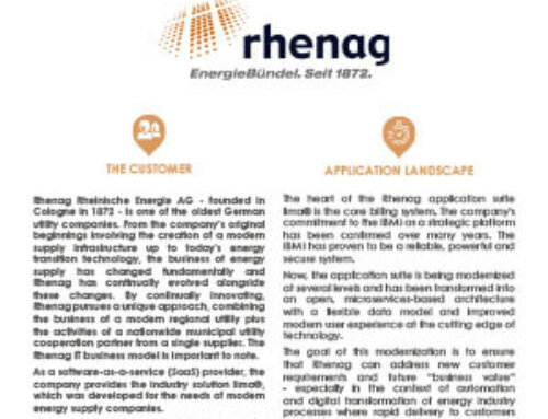 Rhenag migrates to ARCAD for DevOps to achieve its modernization goals and prepare its development team and processes for the future