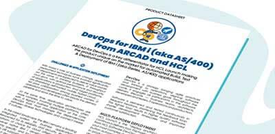 Datasheet ARCAD DevOps for IBM i